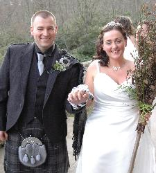 Handfasting at Carisdale Castle