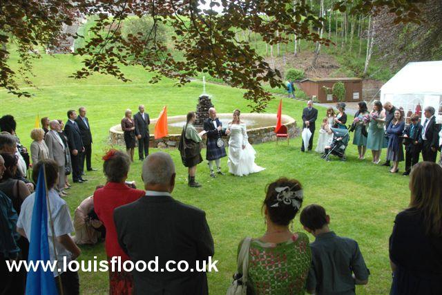 Outdoor Ceremony, Atholl Palace Hotel